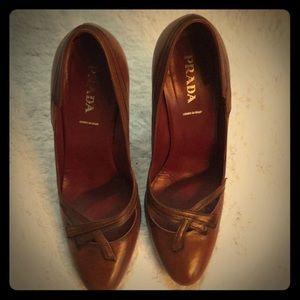 Womens Prada Heels- Size 40 (fits like US 9)